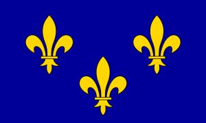 Flag of Île-de-France