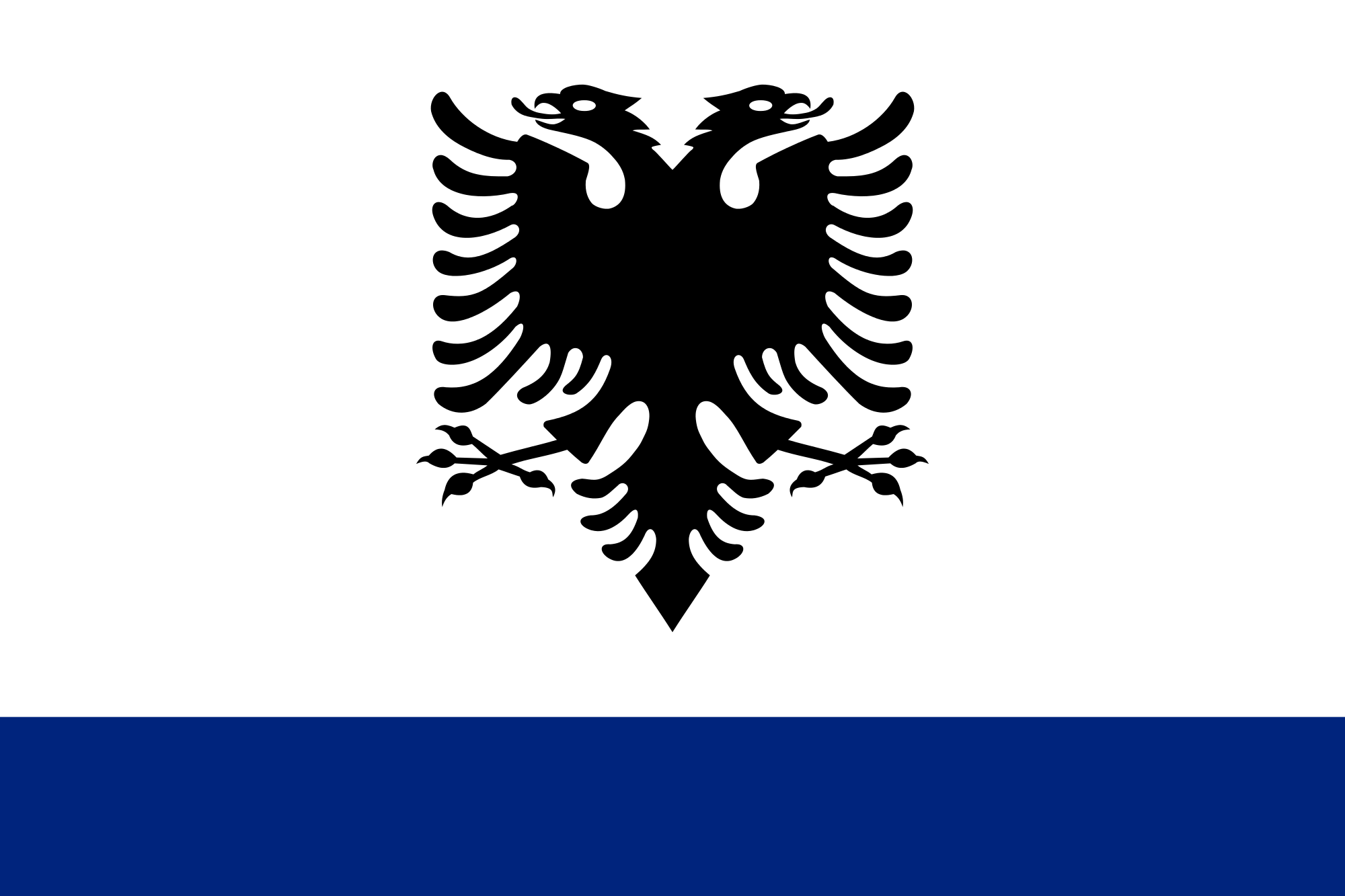 Flag of Albania (State Ensign)