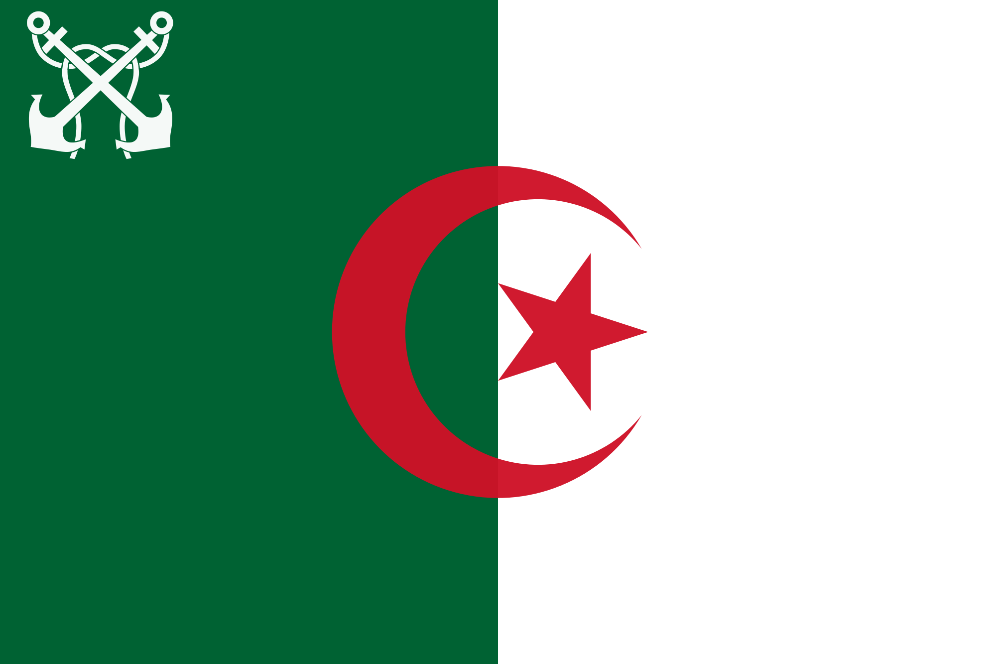 Algeria (Naval ensign)
