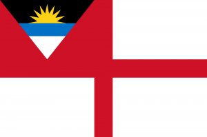 Flag of Antigua and Barbuda (Naval Ensign)