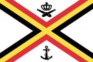 Flag of Belgium (Naval Ensign)