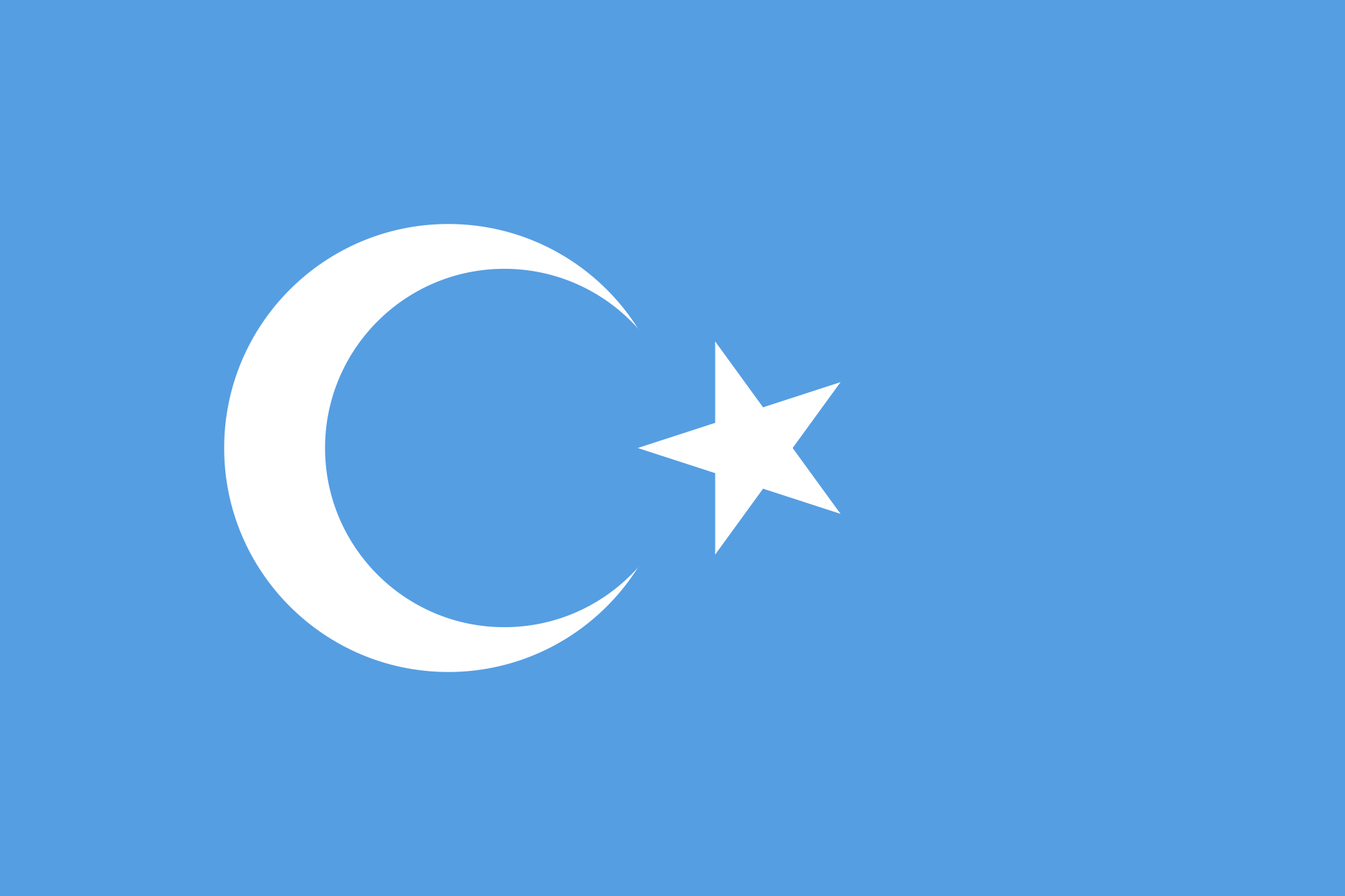 Flag of East Turkestan