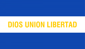 Flag of El Salvador (Motto)
