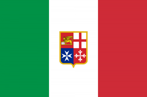 Flag of Italy (Civil ensign)
