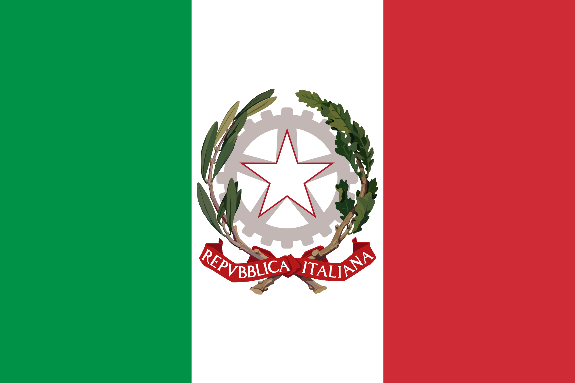 Flag of Italy (State ensign)