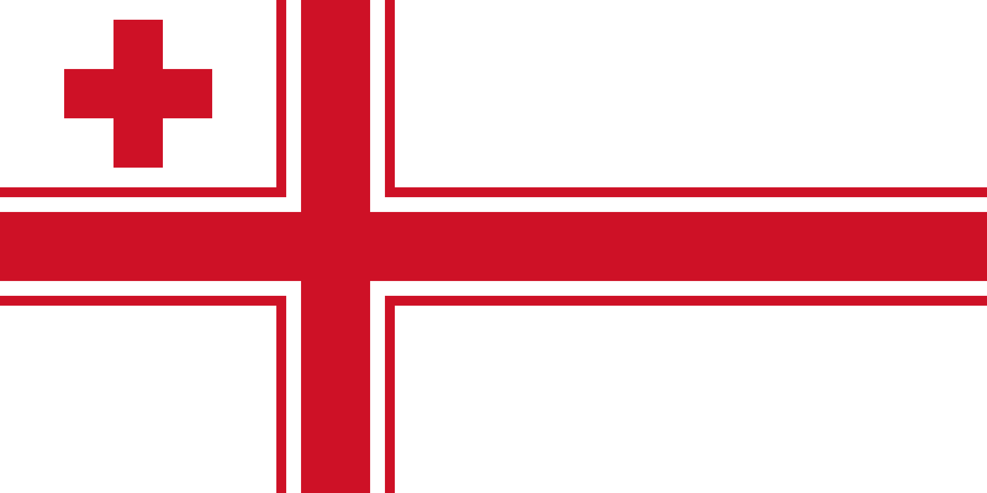 Flag of Tonga (Naval Ensign)