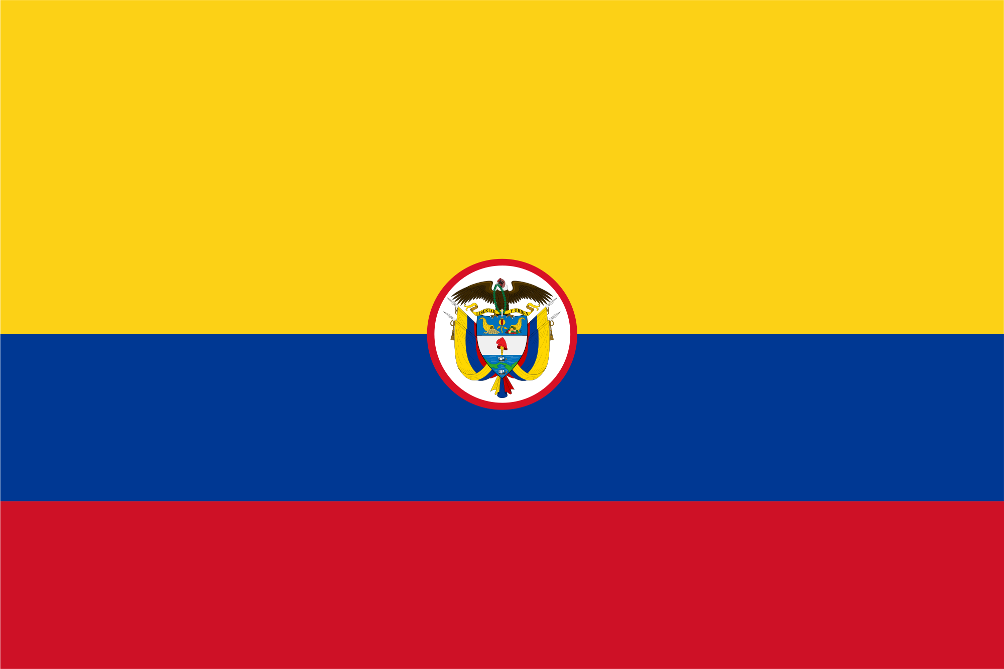 Colombia (Naval ensign)