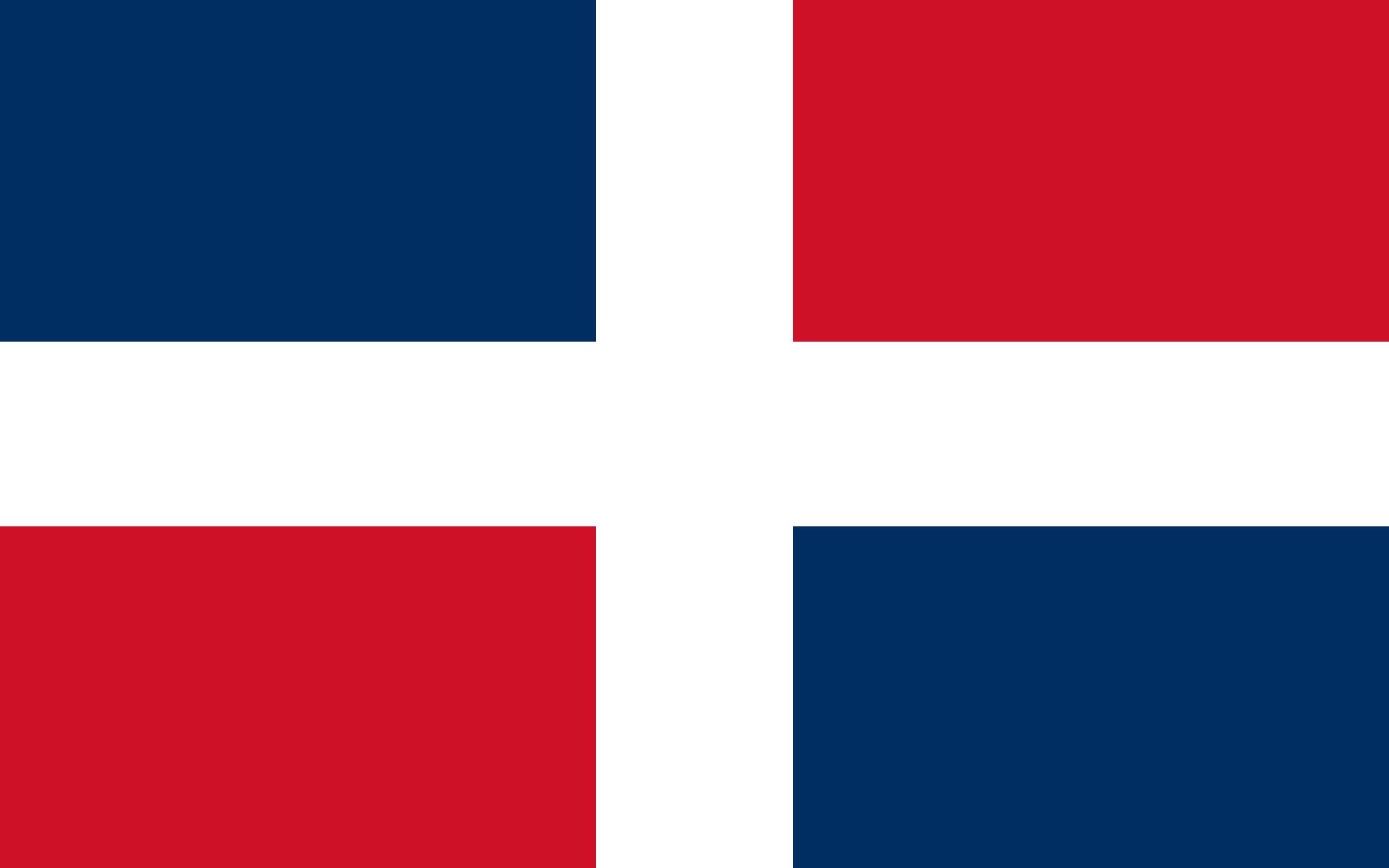 Dominican Republic (Civil ensign)
