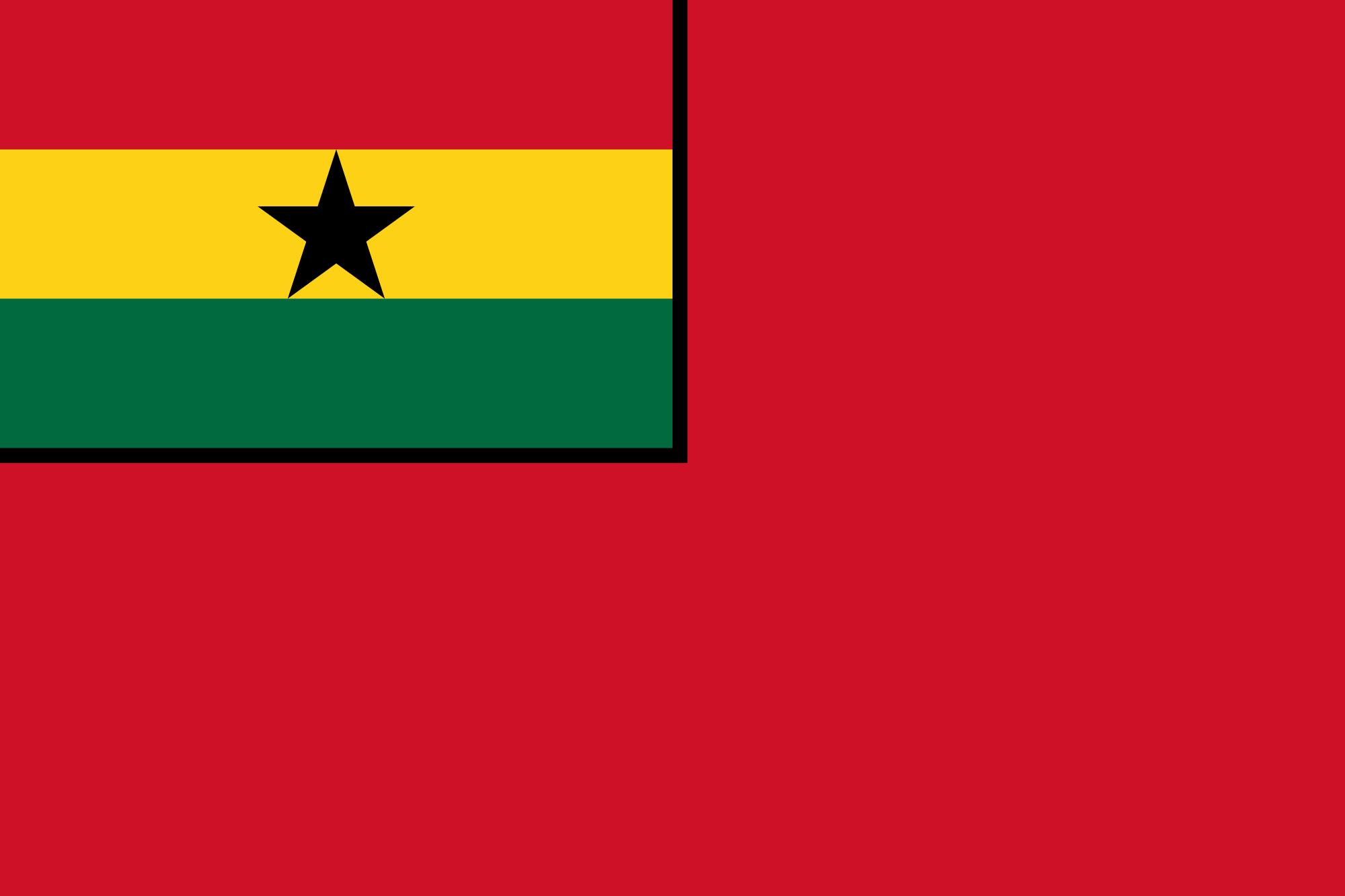 Ghana (Civil ensign)