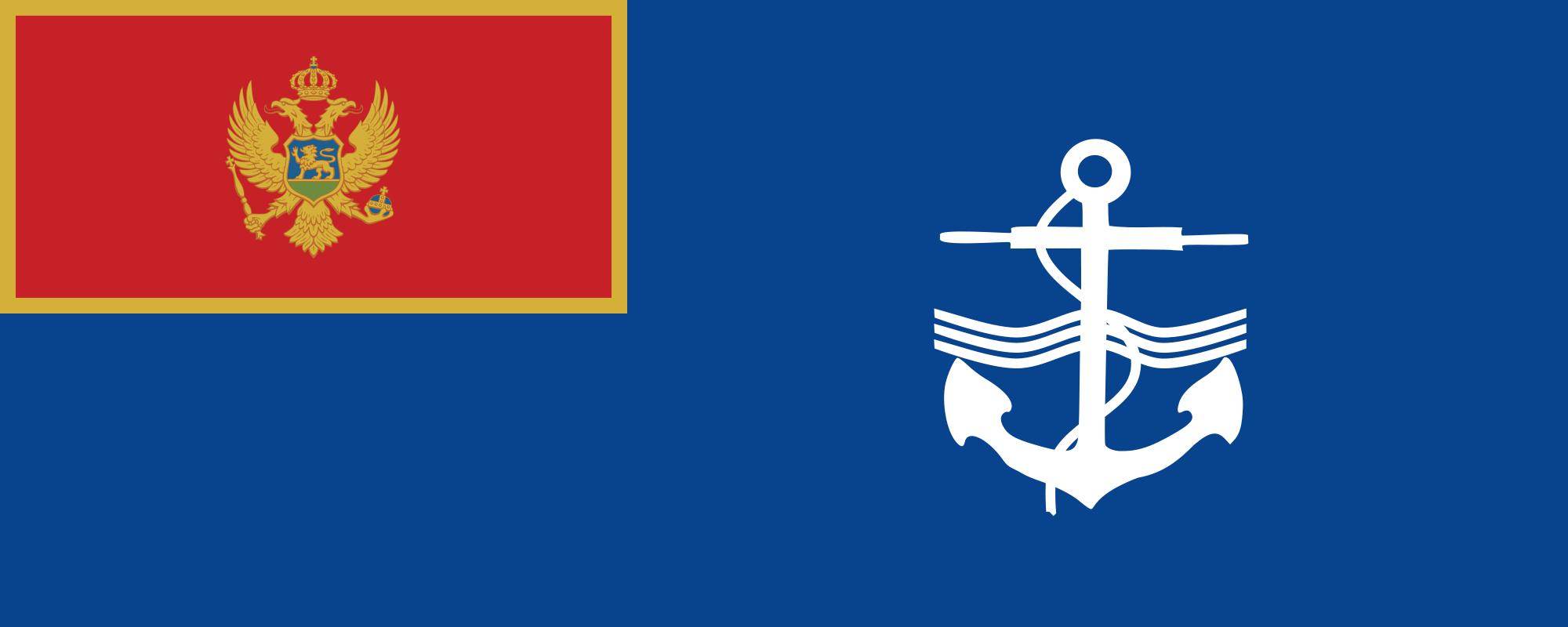 Montenegro (Naval ensign)