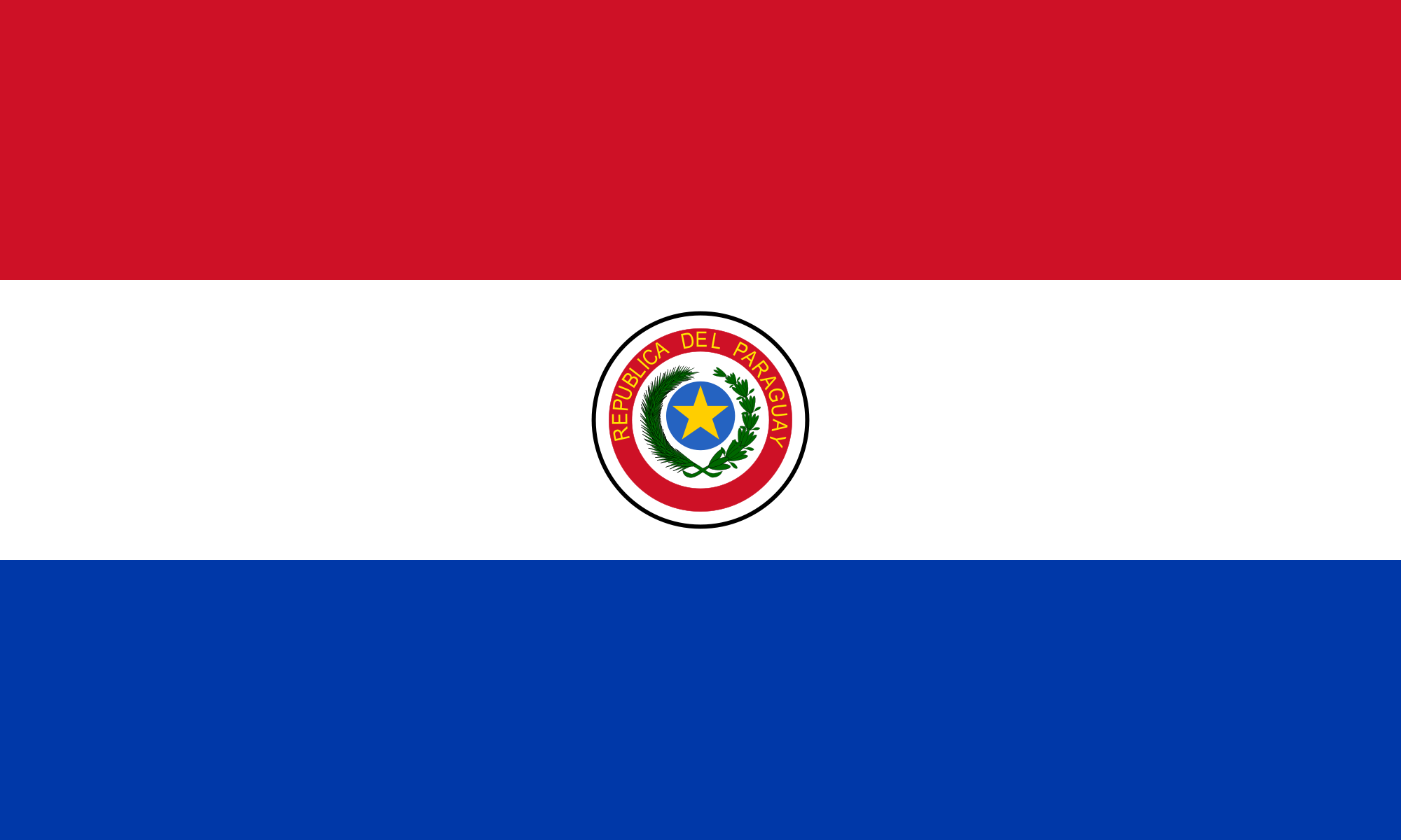 Flag of Paraguay (Obverse)