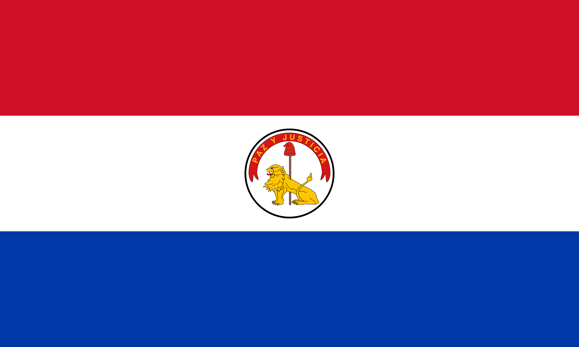 Flag of Paraguay (Reverse)