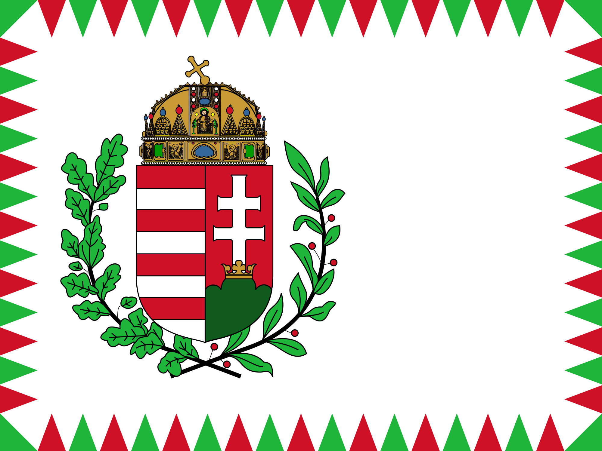 Hungary (Naval ensign)
