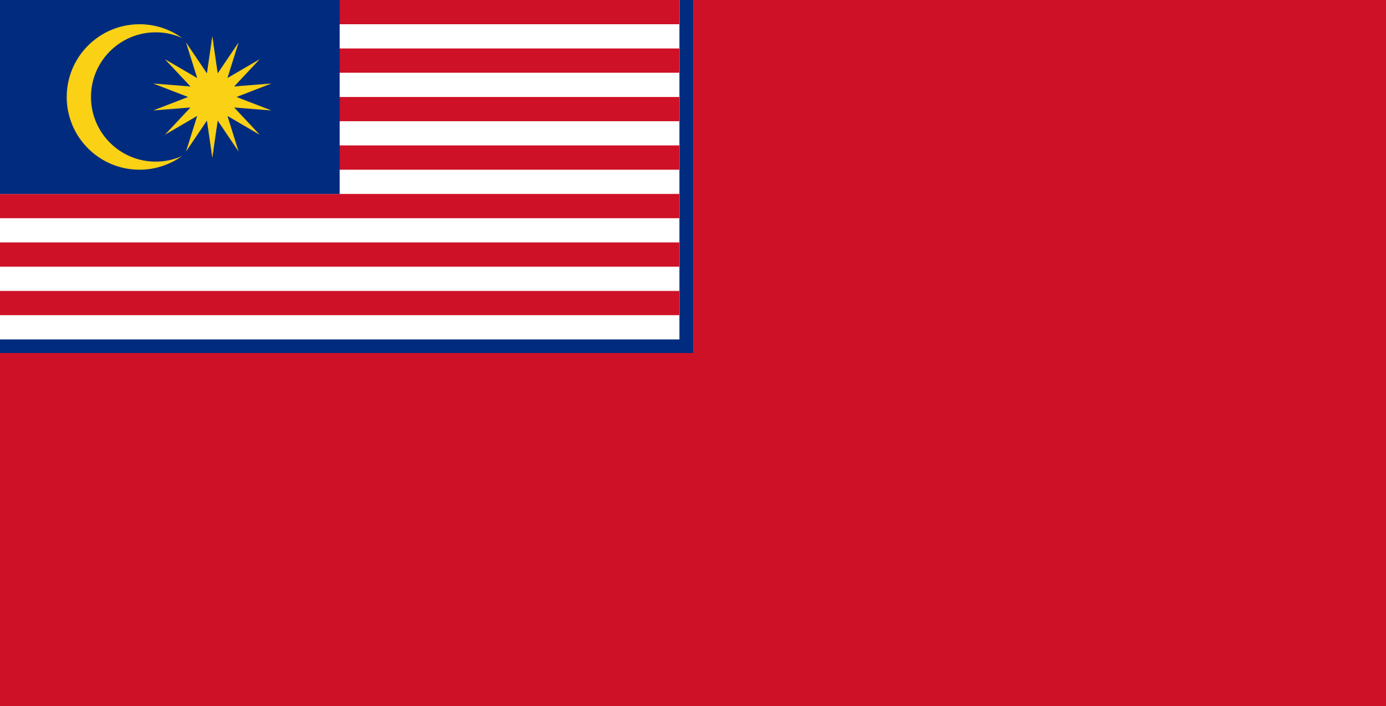 Flag of Malaysia (Civil Ensign)