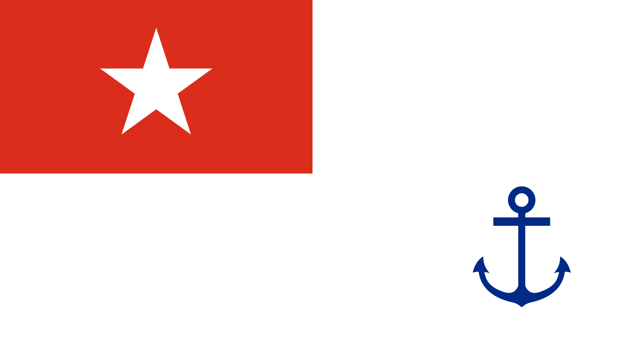 Flag of Myanmar (Naval Ensign)