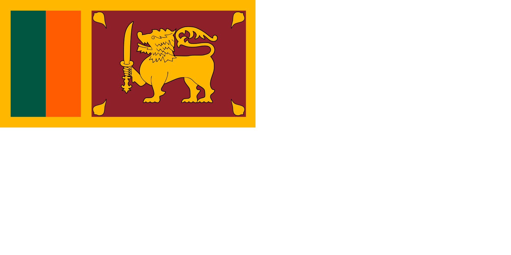 Sri Lanka (Naval ensign)