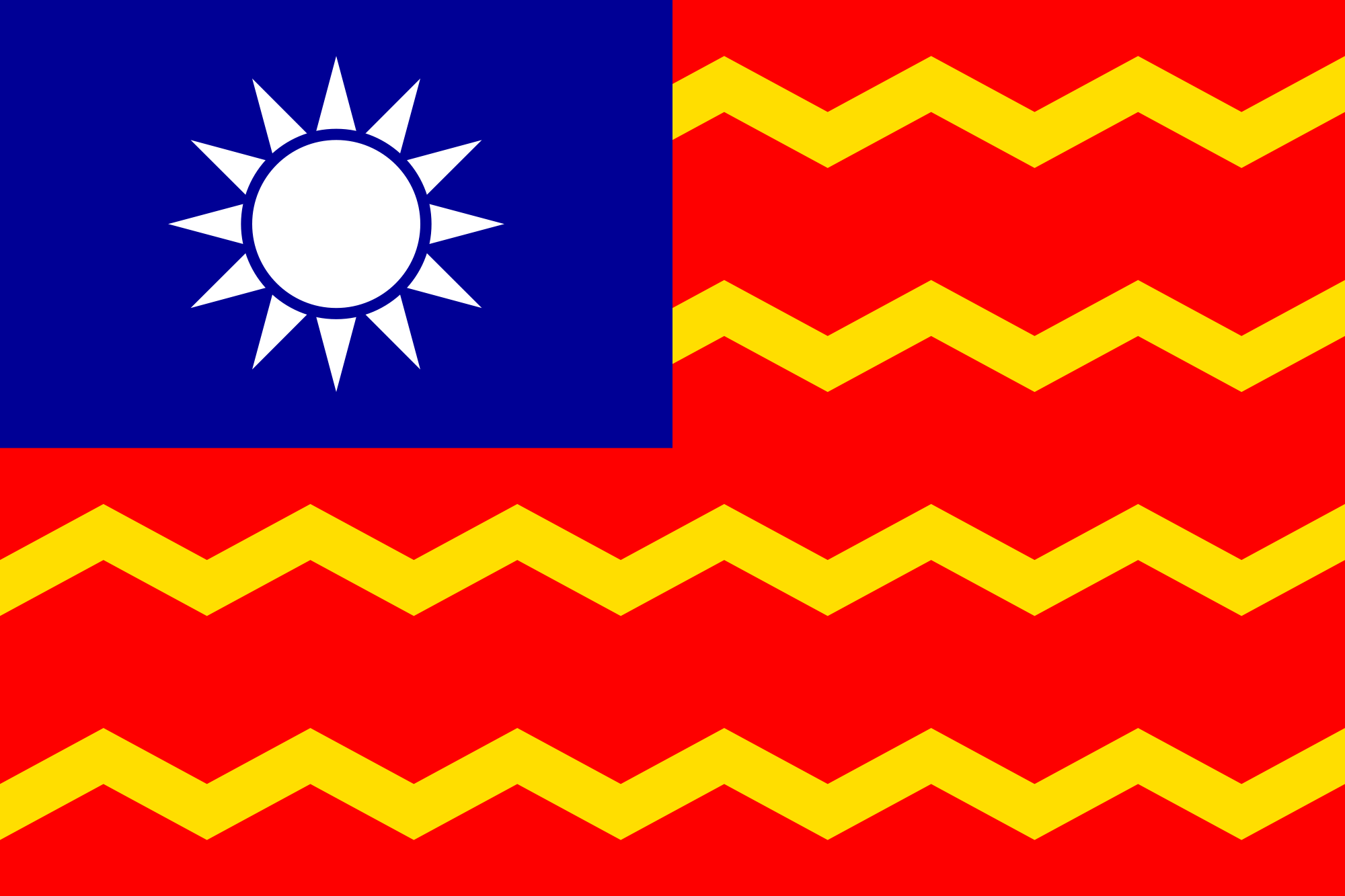Taiwan (Civil ensign)